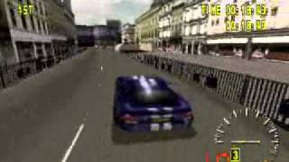 Test Drive 5 (Playstation 1) Gameplay pSX