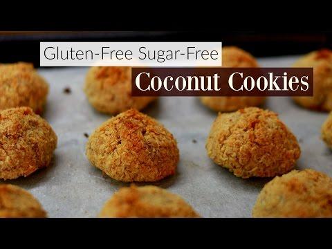 3-Ingredient Coconut Cookies (Gluten And Sugar Free)
