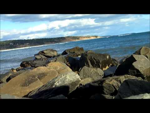 Atlantic Ocean in Nova Scotia, Canada.
