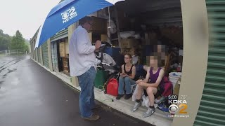Get Marty: Family With 3 Children Found Living In Storage Unit