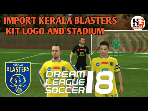 dream league soccer 2019 kerala blasters kit and logo