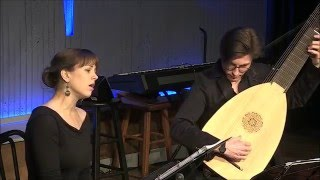 """Erica Schuller, soprano: """"No more shall meads be deck'd with flowers"""" by Nicholas Lanier"""