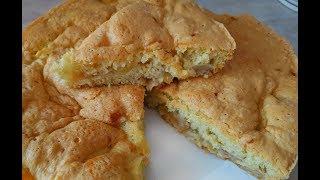 Шарлотка с яблоками.ЗА 5 МИНУТ+выпечка.Классический рецепт.Яблочный пирог.