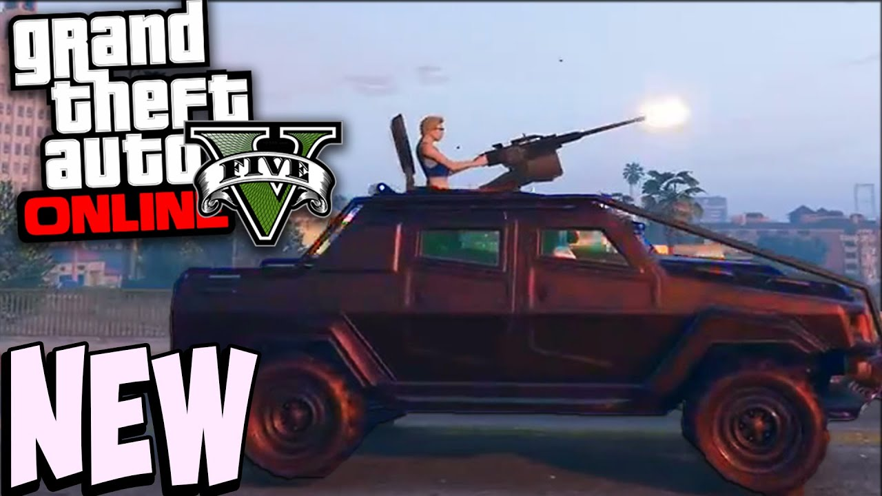 how to get the insurgent in gta 5 online free