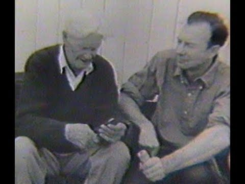 Pete Seeger talks with Duke Tritton. 1963