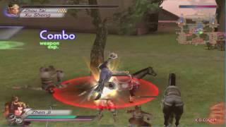 Dynasty Warriors 4 PC - Zhen Ji Gameplay