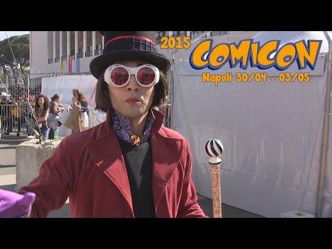 Napoli Comicon 2015  -  Cosplay Music Video