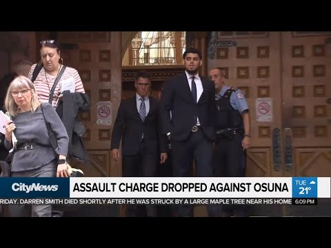 Assault charge against ex-Jays pitcher Osuna dropped