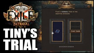 path of exile betrayal league crafting