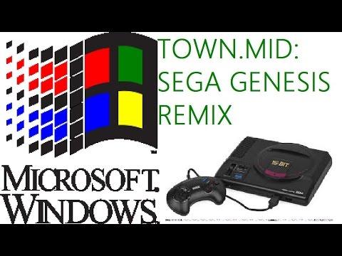 Windows - Town.mid: Sega Genesis Remix