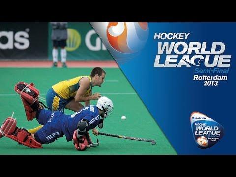 Belgium vs Australia Men's Hockey World League Rotterdam Final [23/6/13]