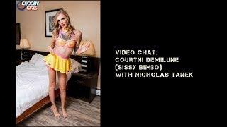 Video Courtni Demilune (sissy bimbo) talks with YourKinkyFriends.com download MP3, 3GP, MP4, WEBM, AVI, FLV Juni 2018