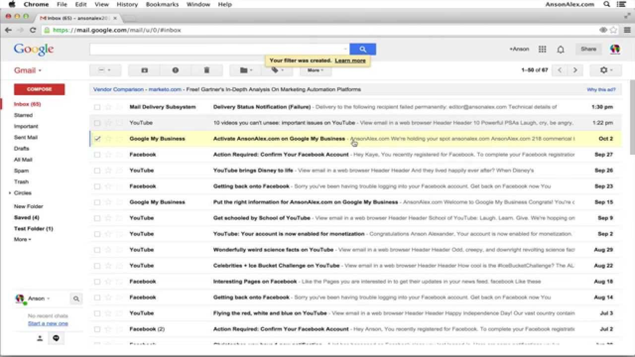 gmail can you forward an email without opening it youtube