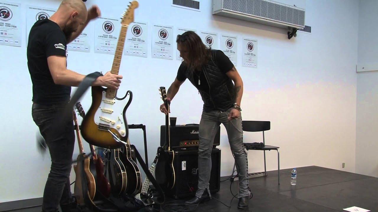 electric guitars mika vandborg s ren andersen clinic at copenhagen guitar show 2013 youtube. Black Bedroom Furniture Sets. Home Design Ideas