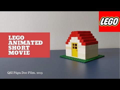 Lego Animated Short Movie By QSI Pápa Doc Film Using Stop Motion Studio
