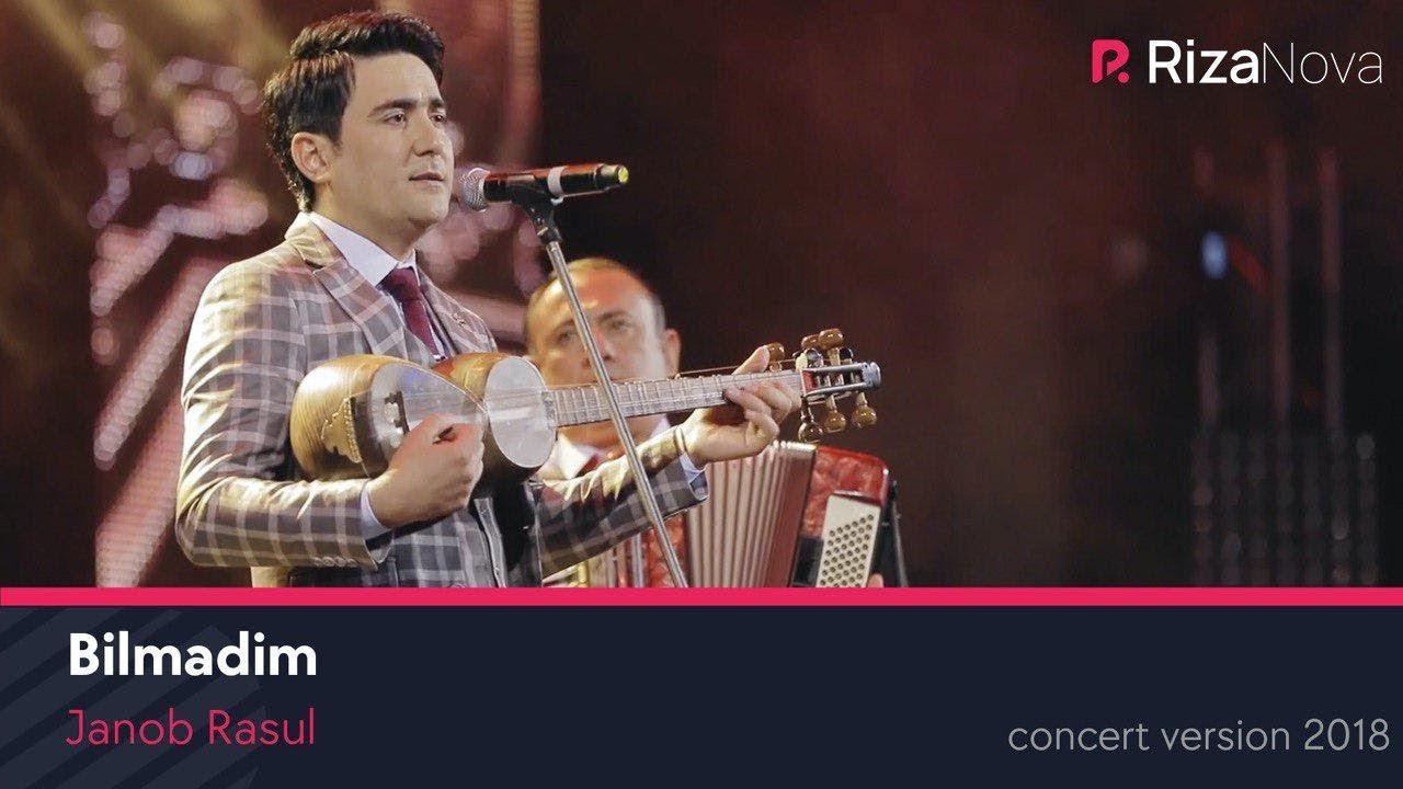Janob Rasul - Bilmadim | Жаноб Расул - Билмадим (concert version 2018)