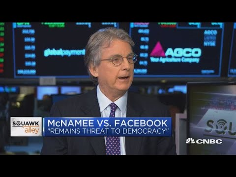 Facebook 'remains a threat to democracy': Roger McNamee