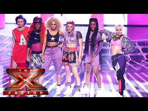 Alien Uncovered pack a punch with Jessie J's Do It Like A Dude | Live Week 1 | The X Factor 2015
