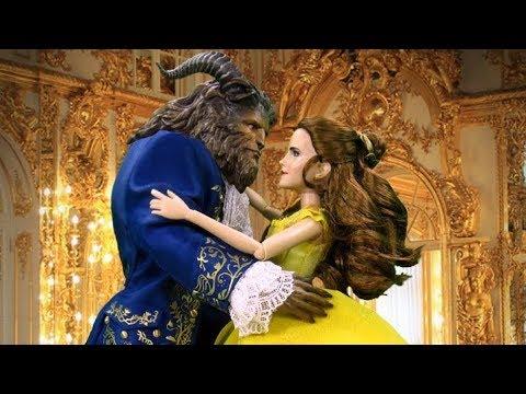 Ver CUENTO LA BELLA Y LA BESTIA 👸🏻 historias con muñecos Disney 👸🏻 cuentos infantiles 2018 en Español