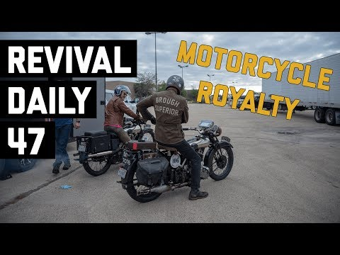 The Rolls Royce of Motorcycles // Revival Daily 47