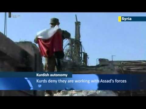 Syrian Kurds play down autonomy plans: anti-Assad rebels slam Kurdish separatist declaration