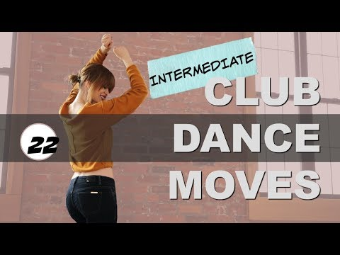 Club Dance Moves Tutorial Part 22  I   BODY ROLL Variation (Intermediate Club Dance)