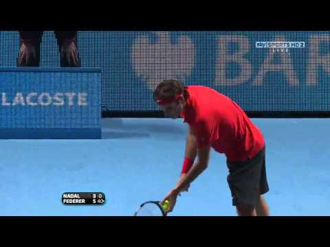 ATP WTF London 2010 Final Roger Federer vs Rafael Nadal Full