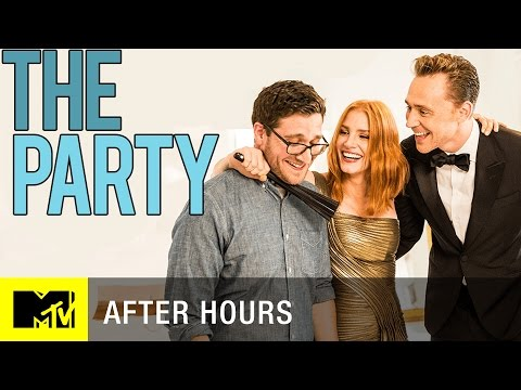 Tom Hiddleston & Jessica Chastain Throw the Worst Party Ever | MTV After Hours with Josh Horowitz