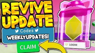 REVIVE UPDATE CODES! Unboxing Simulator *UPDATES ARE BACK!* (Roblox)