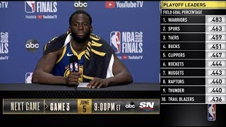 Draymond Green Press Conference | NBA Finals Game 2