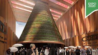 Step inside the Netherlands Pavilion at Expo 2020