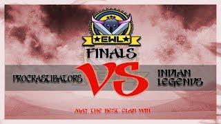 🔴 Live    Elite War League S3 Finals   Procrastibators VS Indian Legends   Join the Hype!!!