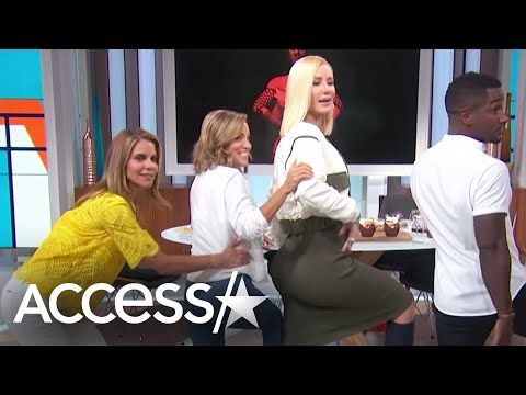 Iggy Azalea Gives A Twerking Tutorial & Spills Details About Guys Sliding Into Her DM's! | Access
