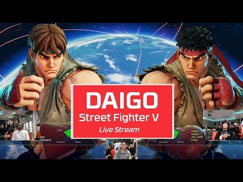 HyperX Live Stream: Daigo vs HyperX playing Street Fighter V on PS4