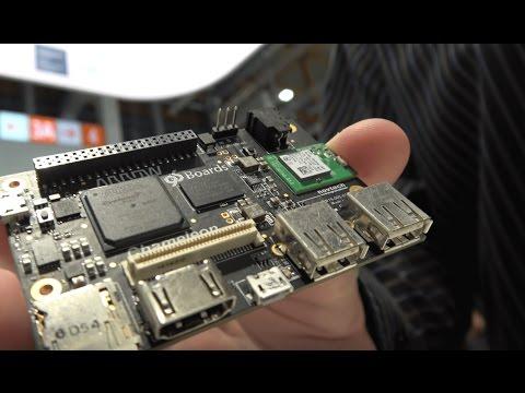 Intel Altera ARM Powered FPGA 96Boards Chameleon96 development board by Novtech