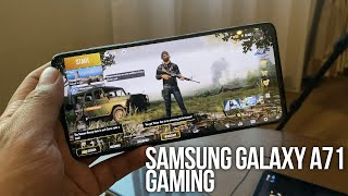 Samsung Galaxy A71 Gaming Review (PUBG Mobile, Call of Duty Mobile, Black Desert Mobile, & NBA 2