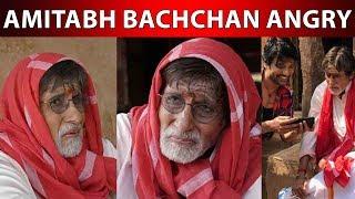 Amitabh Bachchan angry on S.J.Surya