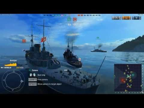 Part 2 world of warship, World of Warship Gameplay by nhnorngGame