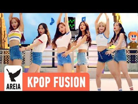 AOA - Bingle Bangle (빙글뱅글) | Areia Kpop Fusion #40 REMIX