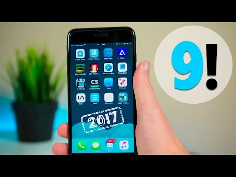 Top 9 BEST iPhone Apps of 2017 (That You'll Actually Use)! | Best iPhone 7 Apps of 2017