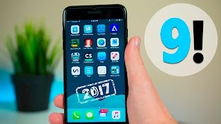Top 9 BEST iPhone Apps of 2017 (That You