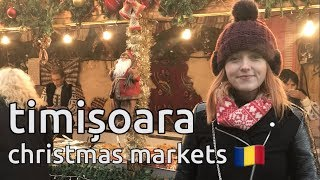 GBP1 mulled wine in timisoara cheapest christmas markets romania vlog