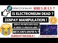 #14 | Electroneum again ICO price | Bitcoin down | Crypto update | In hindi