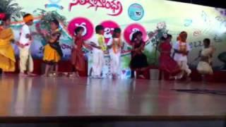 Ramya Kaja SiliconAndhra Manabadi 2011 Gobbiyallo Dance