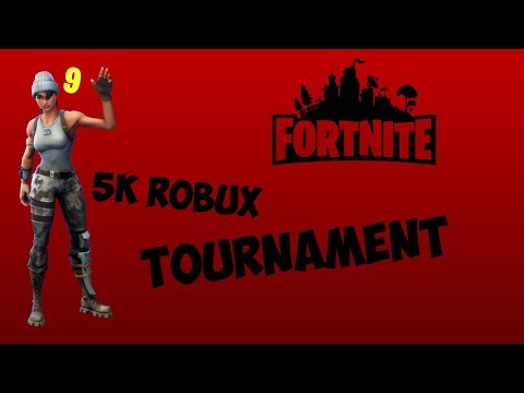FORTNITE 5K ROBUX TOURNAMENT | Fortnite: Battle Royale | Duos With Duxnde