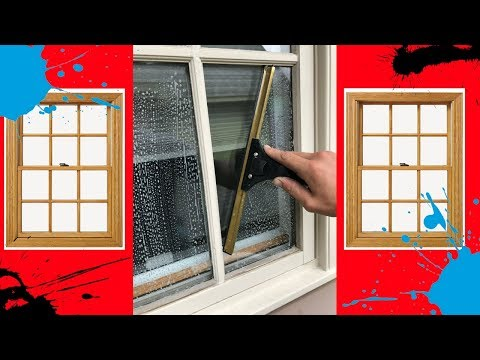 Cleaning French Windows - What is the best way??