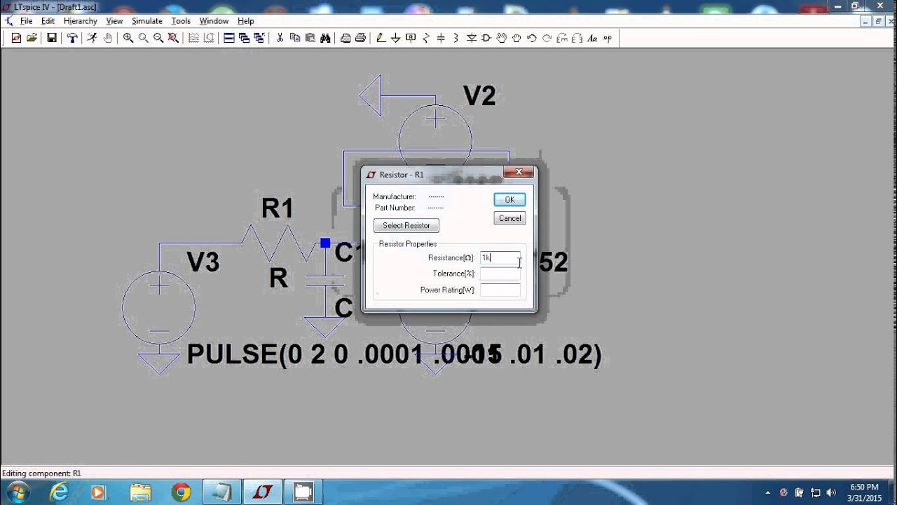 Active Lpf Using Ltspice For Biginners Youtube Double Secondary Bandpass Filter Circuit Filtercircuit