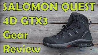 Salomon Quest 4D GTX3 Hiking Boot Review