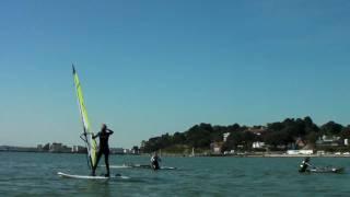 Beginners Windsurfing Lessons - Hen Group Windsurfing