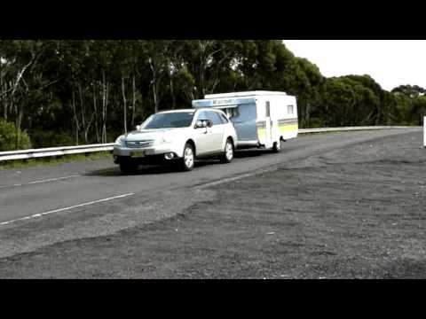 Video Subaru Outback Tow Test Youtube